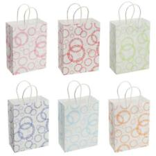 12pcs Big Small Circle Paper Gift Bags Shopping Party Merchandise Boutique Bags