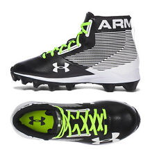 Mens Football Cleats Under Armour Hammer Mid Rubber Molded Football Boot 1289761