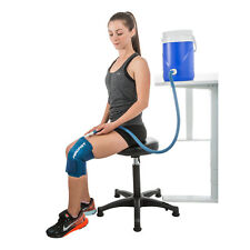 Aircast Cold Therapy Cryo/Cuff Knee with Reusable Gravity-Fed Cooler Kit