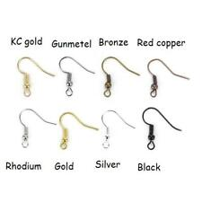 Wholesale Hot Sale 100pcs Earring Hook Coil Ear Wire For Jewelry Making New DIY