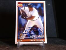 2012 Topps Archives Cecil Fielder Autograph  Detroit Tigers Baseball Card