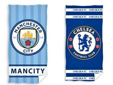 Official Licensed Manchester City FC Chelsea Beach Bath Towel Football Cotton