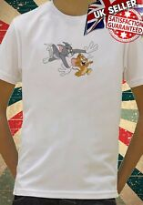 Disney Tom & Jerry Cat Mouse Movie cool Kids Boy Girls Unisex Top T-Shirt 689
