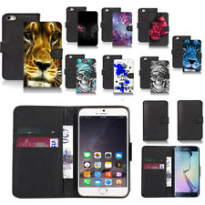 black pu leather wallet case cover for popular mobiles design ref a35