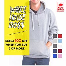 Heavy Blend Pullover Hoodie Basic Fleece Hooded Sweatshirt 18500 NEW!