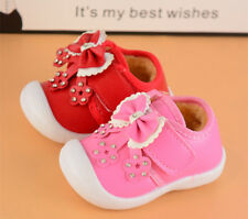 New Cute Infant Baby Warm Shoes Toddler Girls Winter Walking Shoes Squeaky