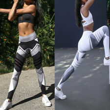 Womens Yoga Pants Workout Gym Leggings Fitness Sports Tight Athletic Trouser
