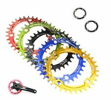 104BCD Chainring MTB XC Bike Parts Narrow Wide Round Oval Chainwheel for Shimano