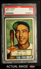 1952 Topps #232 Billy Cox -  Dodgers PSA 5 - EX