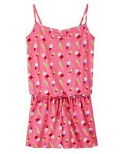 Women's Plus Size Pretty Secrets Printed Pink Ices Cami Playsuit, RRP £10