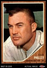 1962 Topps #542 Dave Philley -  Red Sox NM