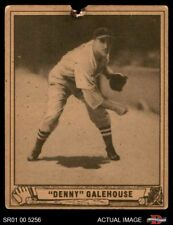 1940 Play Ball #198 Dennis Galehouse Red Sox POOR