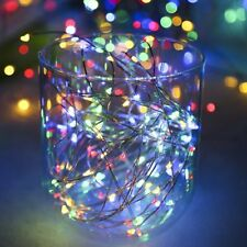 100/200/300/400/500 LED Electric Solar String Fairy Lights Xmas Christmas Party