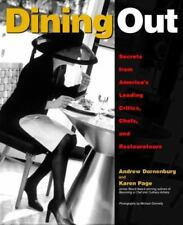 NEW Dining Out:Secrets from America's Leading Critics Chefs & Restaurateurs Book