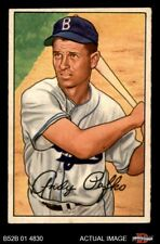 1952 Bowman #204 Andy Pafko Dodgers EX