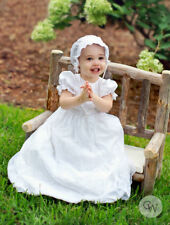 Christine Lace and Silk Christening Gown