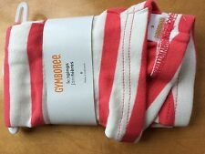 NWT Gymboree Girls Leggings SZ 5,6,7,8,10,12 Purrfectly Fabulous Stripe Coral