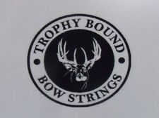 Reflex compound bow string Custom Colors Trophy Bound Strings various models