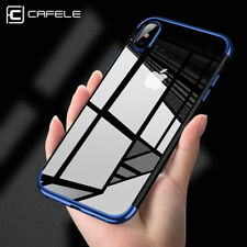 For iPhone X Edition Case Electroplate Clear Soft TPU Hybrid Slim Cover Luxury