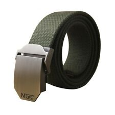 Hot Male Tactical Belt Top Quality Casual Canvas Belt For Men Automatic Buckle