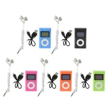 Mini Portable USB Support 32GB Micro SD TF Card LCD Screen Digital MP3 Player