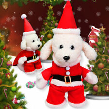 Cute Pet Dog Santa Claus Costume Funny Christmas Cosplay Clothes Winter Apparel