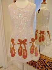 NWT--BIG SALE--LITTTLE ATTITUDES SEQUIN PARTY, PAGEANT, CROWNING, DRESS RTL $299