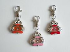 NEW LADIES/GIRL'S/NURSES CUTE PENGUIN KEYRING/KEY CHAIN PENDANT POCKET FOB WATCH