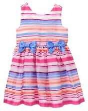 NWT Gymboree Family Brunch Organdy Stripe Dress Toddler Girls 2T,3T,4T Easter