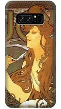 Alphonse Mucha Job Phone Case for Samsung Galaxy Note8 Note5 Note 4 3 2
