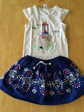 NWT Gymboree Desert Dreams Elephants Shirt Medallion Skirt Set 7 8 10 12 Girl