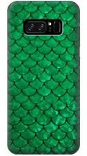 Green Fish Scale Pattern Phone Case for Samsung Galaxy Note8 Note5 Note 4 3 2