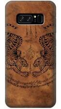 Sak Yant Twin Tiger Phone Case for Samsung Galaxy Note8 Note5 Note 4 3 2