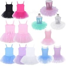 Ballet Dress Kids Baby Girls Tutu Skirt Leotard Gym Ballerina Dancewear Princess