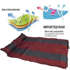 Self Inflating Mattress Air Bed Joinable Camping Hiking Sleeping Mat Double SN