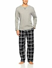 Jockey Men's Flannel Sleep Pant and Jersey Henley Pajama Set - Choose SZ/Color
