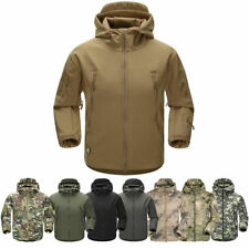 Tactical Special Ops Soft Shell Jacket Mens Military Army Fleece Coat Waterproof