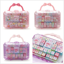 JAPAN VERSION HELLO KITTY MY MELODY BONBONRIBBON CARTOON MINI STAMP SET
