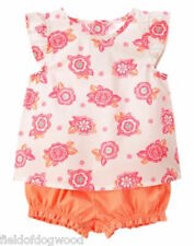 NWT Gymboree Elephant Oasis Floral Swing top Bloomer Set 0 3 6 12 18mo