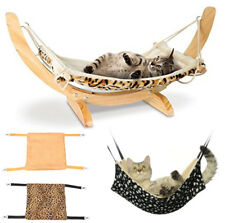 Hanging Cat Cage Warm House Soft Fur Cat Hammock Bed Pets Supplies Ferret Rest
