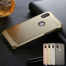 Luxury New Aluminium Metal Bumper Frame Case Brushed Cover For Apple iPhone X 10