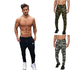 Men's Fitness Long Pants Running Jogging Sweatpants Gyms Casual Outwork Trousers