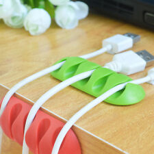 Line Fixer Winder Multipurpose Wire Cord Cable Tidy Holder Drop Clips Organizer*