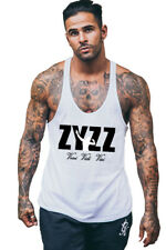 Men's Bodybuilding Tank Top Gyms Fitness Sleeveless Muscle Fashion Vest T-shirt