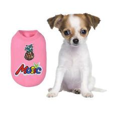 Cute Teacup Dog Clothes Girl Dog Coat Pet Puppy Hoodie for Chihuahua yorkie Dog