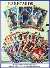 Choose MATCH ATTAX EXTRA 2014 2015 Topps 14/15 HAT-TRICK HERO & DUO Cards