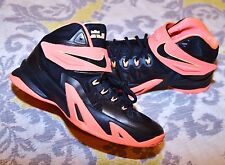 Nike LEBRON JAMES BLACK basketball sneakers shoes high tops boys youth 7 Y / 7Y
