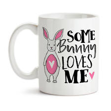 Coffee Mug, Some Bunny Loves Me 001, Somebody Loves Me, Groovy Giftables