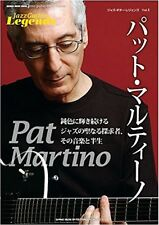Jazz Guitar Legends #05 Pat Martino Japanese Jazz Music Book