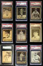 1940 Play Ball 1940 Play Ball Partial Complete Set VG/EX
